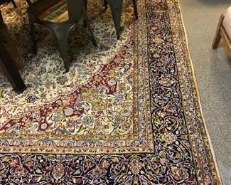 Hand Knotted Wool Rug 14x10