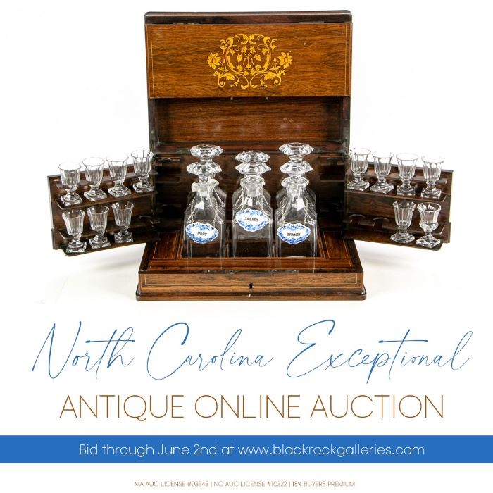 North Carolina Exceptional Antique Online Auction Starts On 6 18 2020