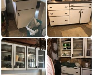 Vintage Dwyer metal cabinets. Murphy-Cabranette cabinets (Original Murphy bed Co.)