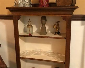 Hand-Crafted 3 shelf bookcase/Display Cabinet