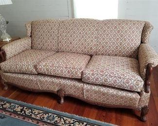 Lot #16  Matching Vintage Sofa $145