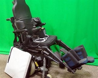 Pride Mobility Quantum 6000 Power Wheelchair, Power Tilt, Incredi Back, Swing Away Joystick, 6-Wheel Design, Extra Pads