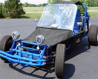 1988 VW Sand Rail Dune Buggy, Professionally Restored 2018, 4402 Miles, Powder Coat, Street Legal, 3rd Place KC World of Wheels 2019, VIN# DR141467MO