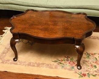 7. Queen Anne Coffee Table