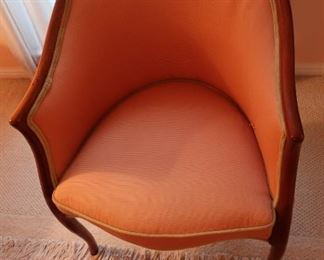 5  peach  small  chair