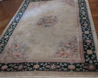 52  chinese  rug  (as  shown)  Price  is  30.00