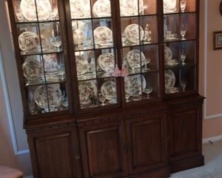 26  dining  room  china  cabinet-  sold  individually  much  of  the  china  is  sold