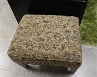 106  upholstered  hassock