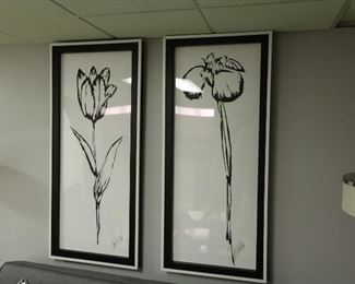 114    tall  flower  picture       115  tall  flower  picture   Price  is 75.00  each