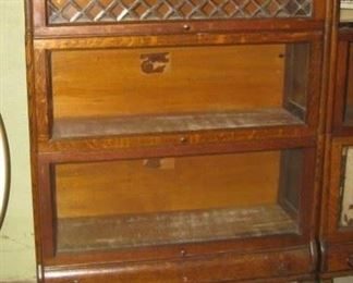 Lundstrom Barrister bookcase, one of two