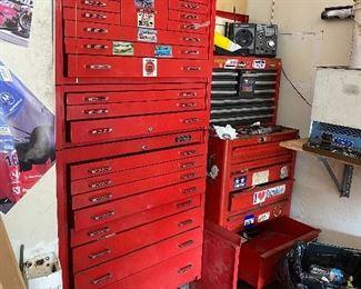 MATCO tool cabinets