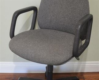 37. Lot S37 (0079.jpg) – Office Desk Chair – up/down/rotating/wheels etc.