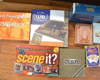 143. Lot S143 (0268.jpg) – $45.00 – 8 Table Games. See pictures – very good condition.
