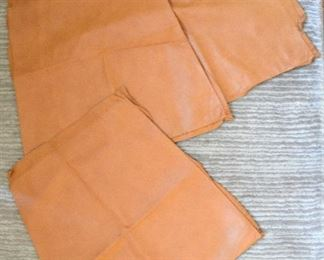 "142. Lot S142. (0267.jpg) - $10.00 – 18"" x 18"" – 3 ps. High-Grade Soft Leather for Crafting"