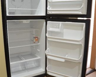 "146. Lot F146 (0272.jpg 0272.jpg 0273.jpg) - $250.00 – Upright Refrigerator model AD-18, 18 cu feet. Working – Clean Very Good Condition. 66"" high x 30"" wide x 34"" deep with handles."