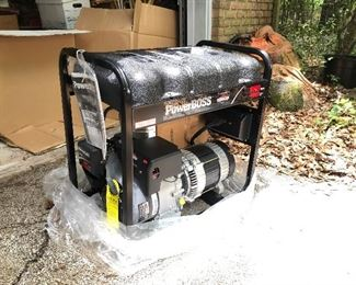 Generator that has never been used