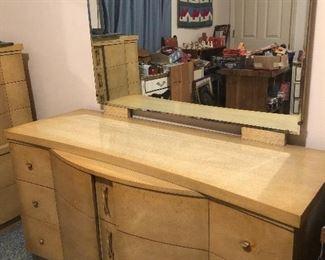 Midcentury dresser and mirror