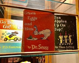 1960's First edition Dr Seuss books.