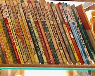 1960's First edition Dr Seuss as well as some revised copies.