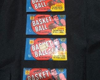 1968 - Topps  Pro Basketball  cards - NEVER OPENED - Accepting bids ahead of sale.