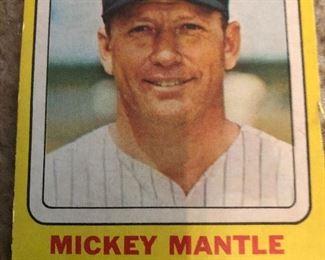 Not a real baseball card