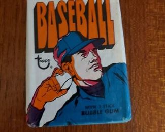 1970 Topps baseball pack, 30 available. These packs have been previously opened