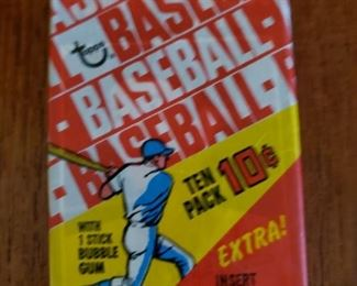1970 Topps baseball pack, 5 available  These packs have been previously opened