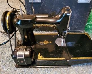 Singer model 221 with box