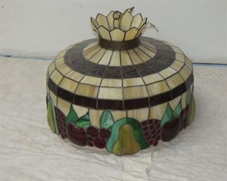 ITEM 12--  stained glass hanging fixture 20' diameter. $100.00