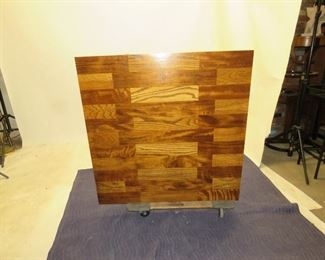 Lane MCM brutalist style coffee table.  PIC 2