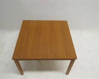 Danish teak table,  minor leg blemishes. removable legs  PIC 2