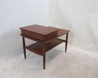 MCM side table with drawer. PIC 2