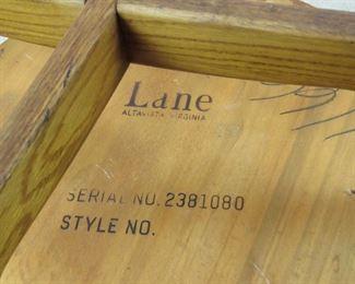 Lane MCM 2 tier table.  PIC 2