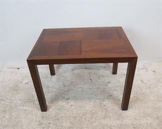 "ITEM 256--- Lane MCM table, 28"" wide, 21"" deep, 20"" high. $100.00"