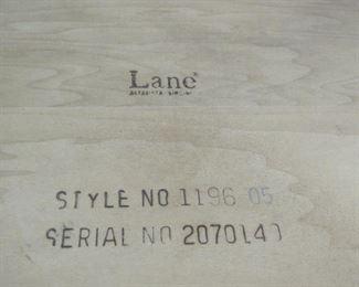 Lane MCM table, PIC 2