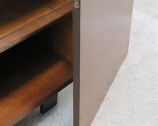 ITEM-277-- George Nelson Herman Miller cabinet. [missing hinges, top scratches].  PIC 3