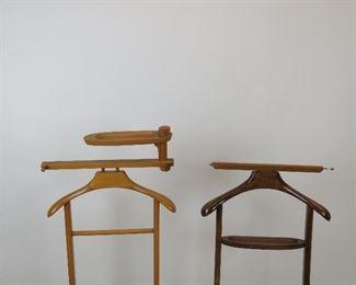 ITEM-284- 2 MCM wooden valets,  PIC 2