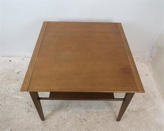 ITEM-291-- Drexel profile table designed by John Van Koert. [scratches, blemishes and wear.] PIC 3