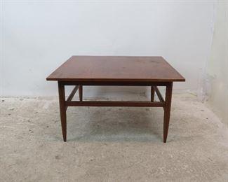 ITEM-293--Danish teak table [surface has nicks, marks, blemishes]  PIC 3