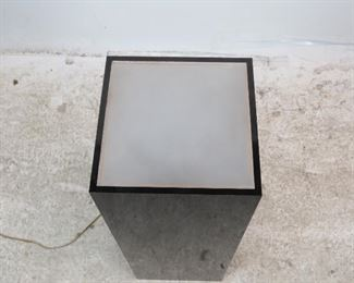 ITEM-305--Acrylic illuminated pedestal, PIC 2