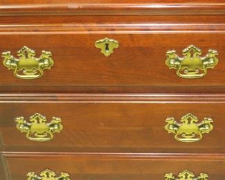 ITEM-367-- Pair of Pennsylvania House mahogany 2 drawer night stands. PIC 3