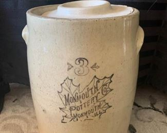 Monmouth Pottery Butter Churn