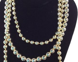 Ladies Costume Jewelry, lot 2 Necklaces