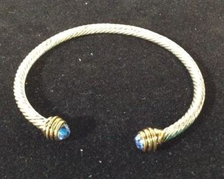 Twisted Cable Bangle, David Yurman Style
