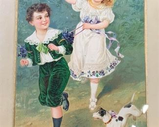 Hand Painted Portrait of Children
