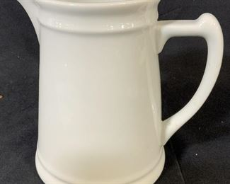 White Toned Milk Pitcher