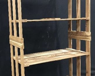 4 Shelf Wooden Rack