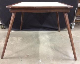 Vintage Folding Leg Game Table