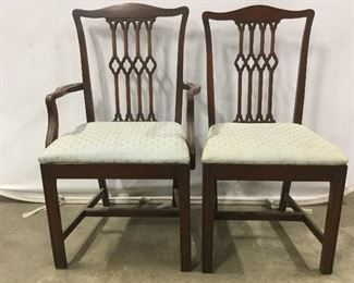 Lot 2 Matching Side & End Chair