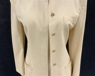 Luxury Designer Genny Silk wool Jacket